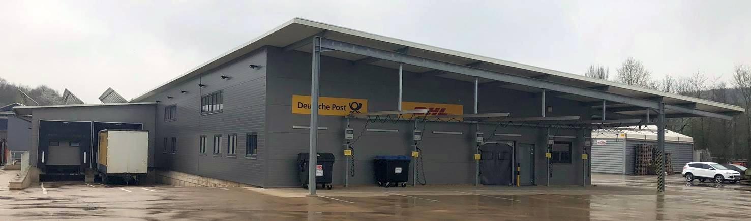 Neubau eines DHL Zustellstützpunktes