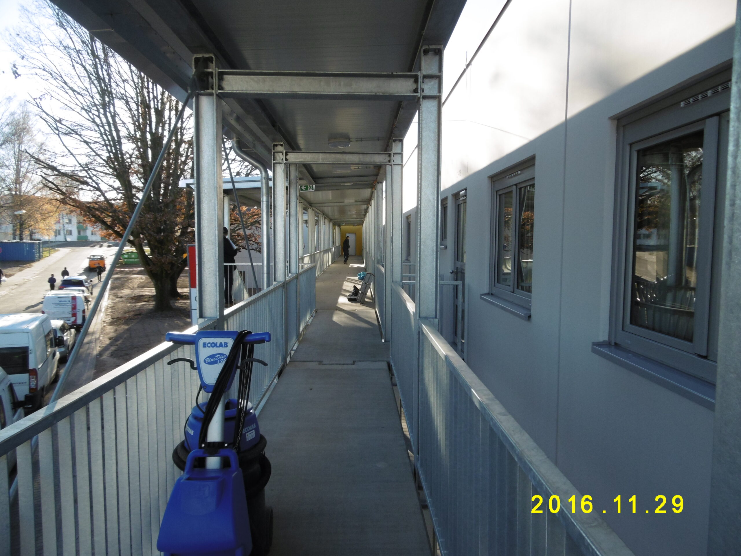 Neubau mehrerer Verfügungsgebäude zur Unterbringung von Kriegsflüchtlingen in der Zentralen Landesaufnhmestelle Lebach