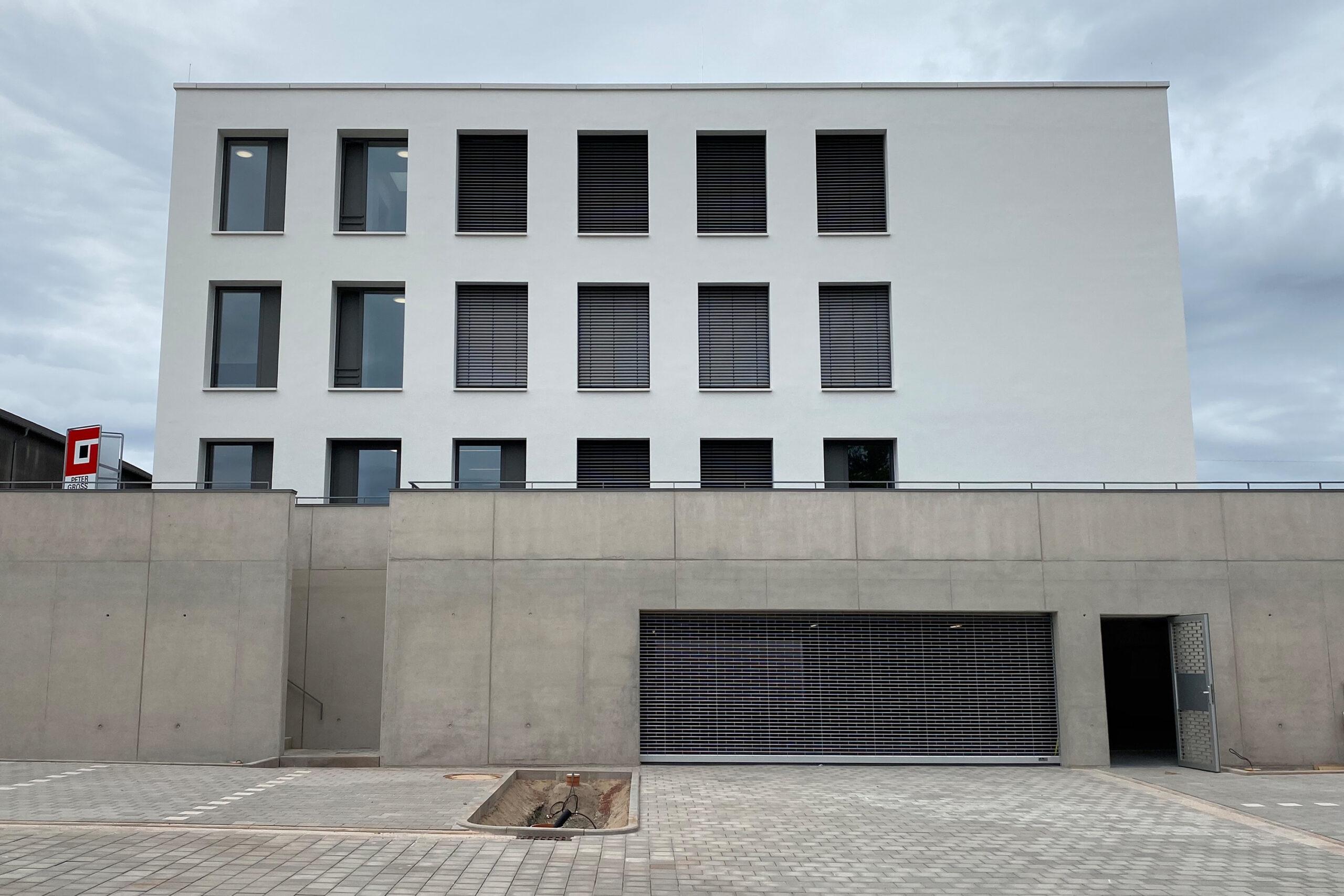 Neubau eines Bürogebäudes mit Tiefgarage